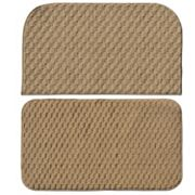 Garland Rug 2 pc Town Square Solid Slice Rug Set