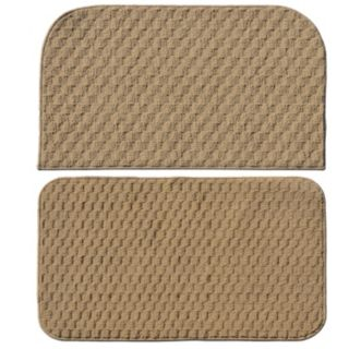 Garland Rug 2-piece Town Square Solid Slice Rug Set