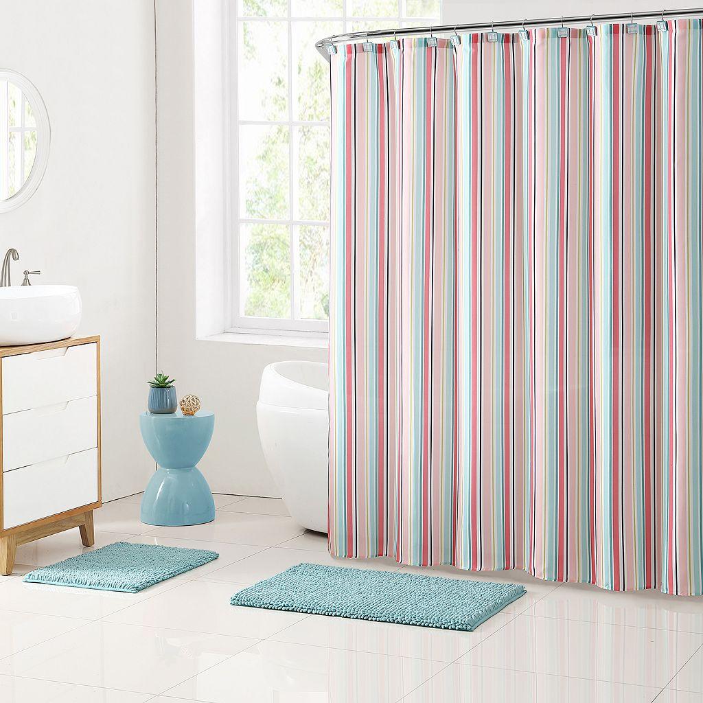 Clairebella 15-piece Cabana Stripe Bathroom Set