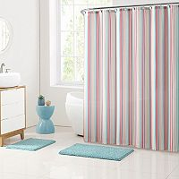 Clairebella 15-piece Cabana Stripe Bathroom Set