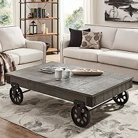 HomeVance Derry Industrial Coffee Table
