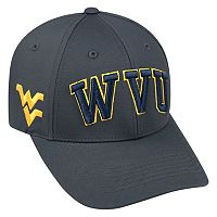 Adult Top of the World West Virginia Mountaineers Cool & Dry One-Fit Cap