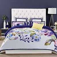 Christian Siriano 3 pc Garden Bloom Duvet Cover Set