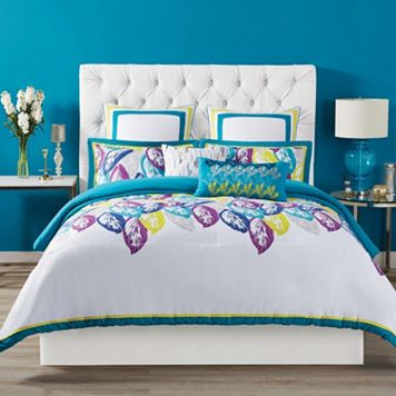 Christian Siriano 3-piece Plume Duvet Cover Set