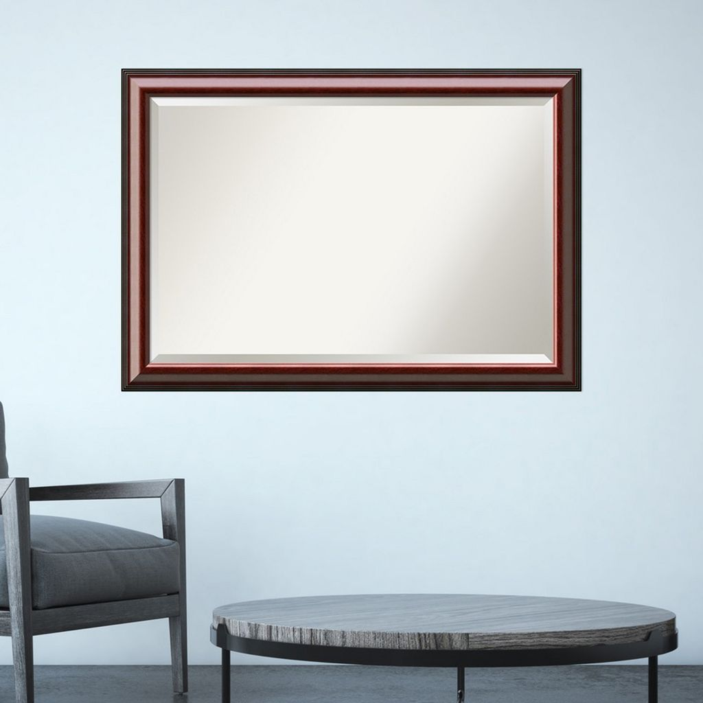 Amanti Art Large Traditional Wall Mirror