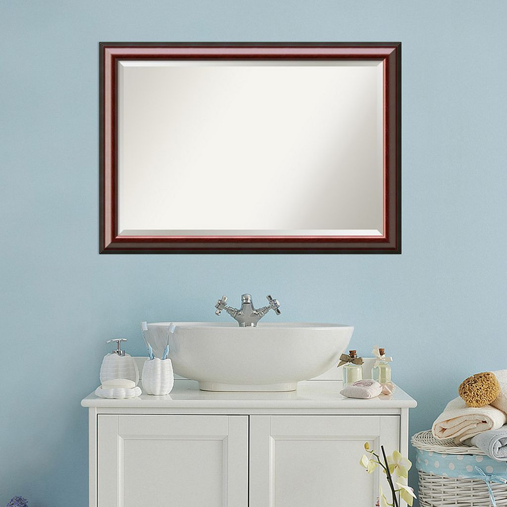 Amanti Art Large Traditional Wall Mirror