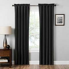 eclipse Thermaback Blackout 1-Panel Miles Window Curtain