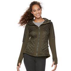 Women's Tek Gear® Quilted Mixed-Media Jacket