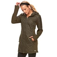 Women's Tek Gear® Hooded Quilted Jacket