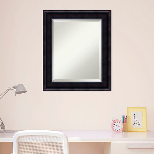 Amanti Art Small Traditional Wall Mirror