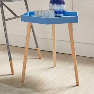 HomeVance Sipea Hexagon End Table