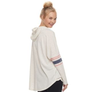 """Juniors' About A Girl """"Hey Brooklyn"""" Long Sleeve Graphic Hoodie"""
