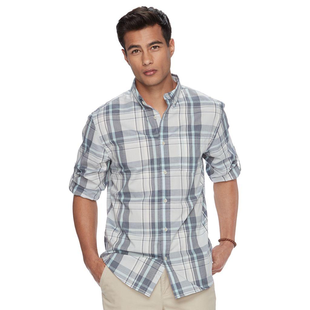 Men's Urban Pipeline® MaxFlex Print Button-Down Shirt