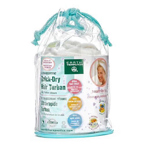 Earth Therapeutics Quick-Dry Hair Turban