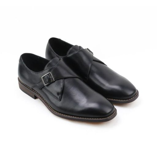 XRay Solo Men's Monk Strap Dress Shoes