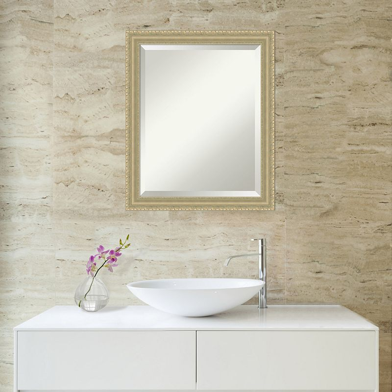 Amanti Art Champagne Finish Wall Mirror, Other Clrs
