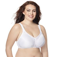 Just My Size Bras: 2-pack Comfort Strap Minimizer Full-Figure Wire Free Bra MJ197P