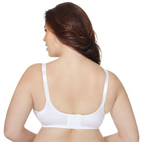 Just My Size Bras: 2-pack Comfort Strap Minimizer Full-Figure Wire Free Bra MJP197