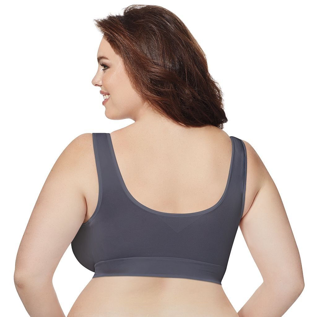 Just My Size Bras: 2-pack Pure Comfort Full-Figure Front Close Bra MJ127P