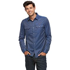 Men's Apt. 9® Premier Flex Slim-Fit Stretch Casual Button-Down Shirt