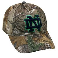 Adult Top of the World Notre Dame Fighting Irish Extra Realtree One-Fit Cap