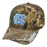 Adult Top of the World North Carolina Tar Heels Realtree One-Fit Cap