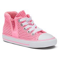 Toddler Girls' Converse Chuck Taylor All Star Sport Zip High-Top Sneakers