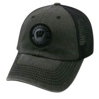 Adult Top of the World Wisconsin Badgers Outlander Snapback Cap
