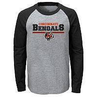 Boys 8-20 Cincinnati Bengals Field Line Tee