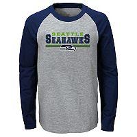 Boys 8-20 Seattle Seahawks Field Line Tee