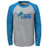 Boys 8-20 Detroit Lions Field Line Tee