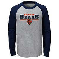 Boys 8-20 Chicago Bears Field Line Tee