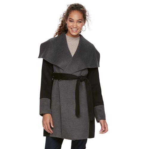 Women's Apt. 9® Draped Collar Coat