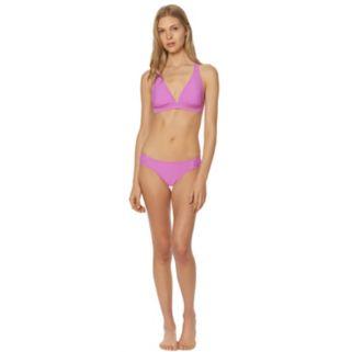 Women's Pink Envelope D-Cup Triangle Bikini Top