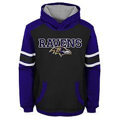 Boys 8-20 Baltimore Ravens Allegiance Pullover Hoodie