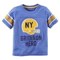 Boys 4-8 Carter's 'NY Gridiron Hero' Striped Graphic Tee