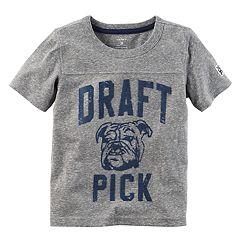 Boys 4-8 Carter's 'Draft Pick' Heathered Tee