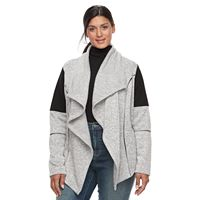 Plus Size Tek Gear® Colorblock Fleece Transitional Jacket
