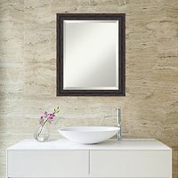 Amanti Art Rustic Wood Wall Mirror
