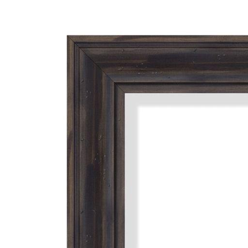 Amanti Art Rustic Wood Wall Mirror