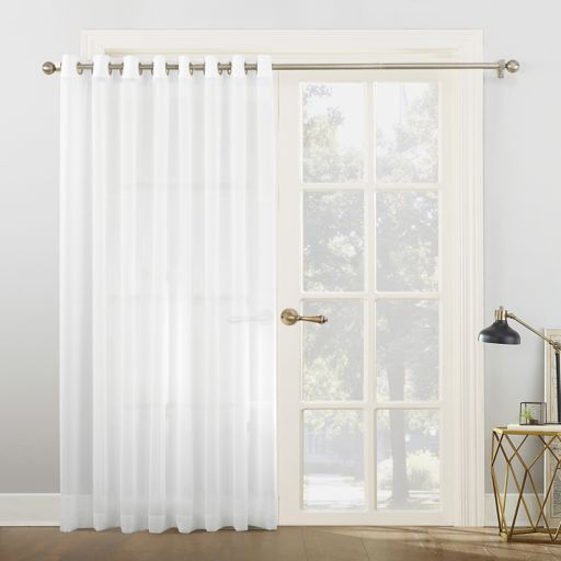 No918 Emily Extra-Wide Sheer Voile Patio Curtain
