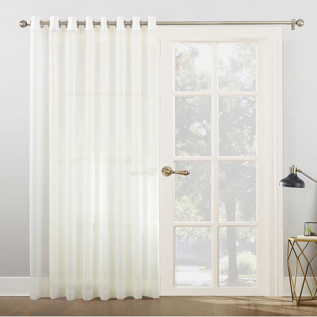 No918 Emily Light Filtering Patio Curtain