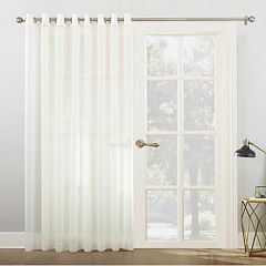 No 918 1-Panel Emily Extra-Wide Sheer Voile Patio Curtain