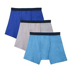 Boys 4-20 Fruit of the Loom 3-pack Breathable Mesh Boxer Briefs