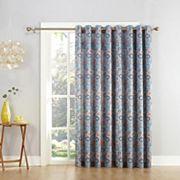 Sun Zero Galaxy Room Darkening Patio Curtain