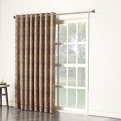 Sun Zero 1-Panel Galaxy Room Darkening Patio Curtain