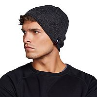 Men's Heat Keep Reversible Knit Heat-Lined Beanie