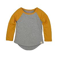 Toddler Girl Burt's Bees Baby Organic Colorblock Tee