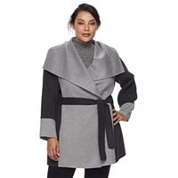 Plus Size Apt. 9® Draped Collar Coat