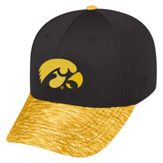 Adult Top of the World Iowa Hawkeyes Lightspeed One-Fit Cap